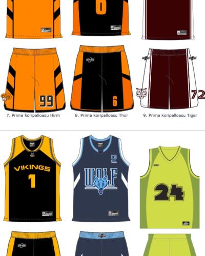 Kategorian kuva Prima koripalloasu mallisto, 32 designia