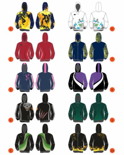 Kategorian kuva Custom hupparit ja verkkatakit