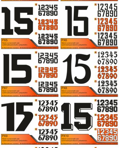 Kategorian kuva Numeromallit