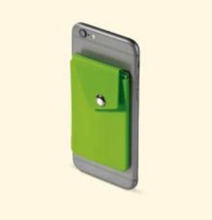 Kategorian kuva Korttikitelo matkapuhelimen taakse.